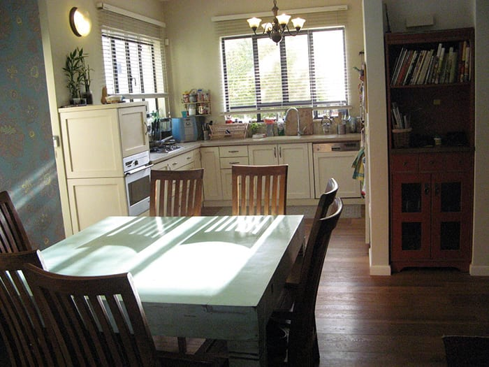 פינת אוכל בבית למכירה בכפר נטר, בית להשכרה בכפר נטר
