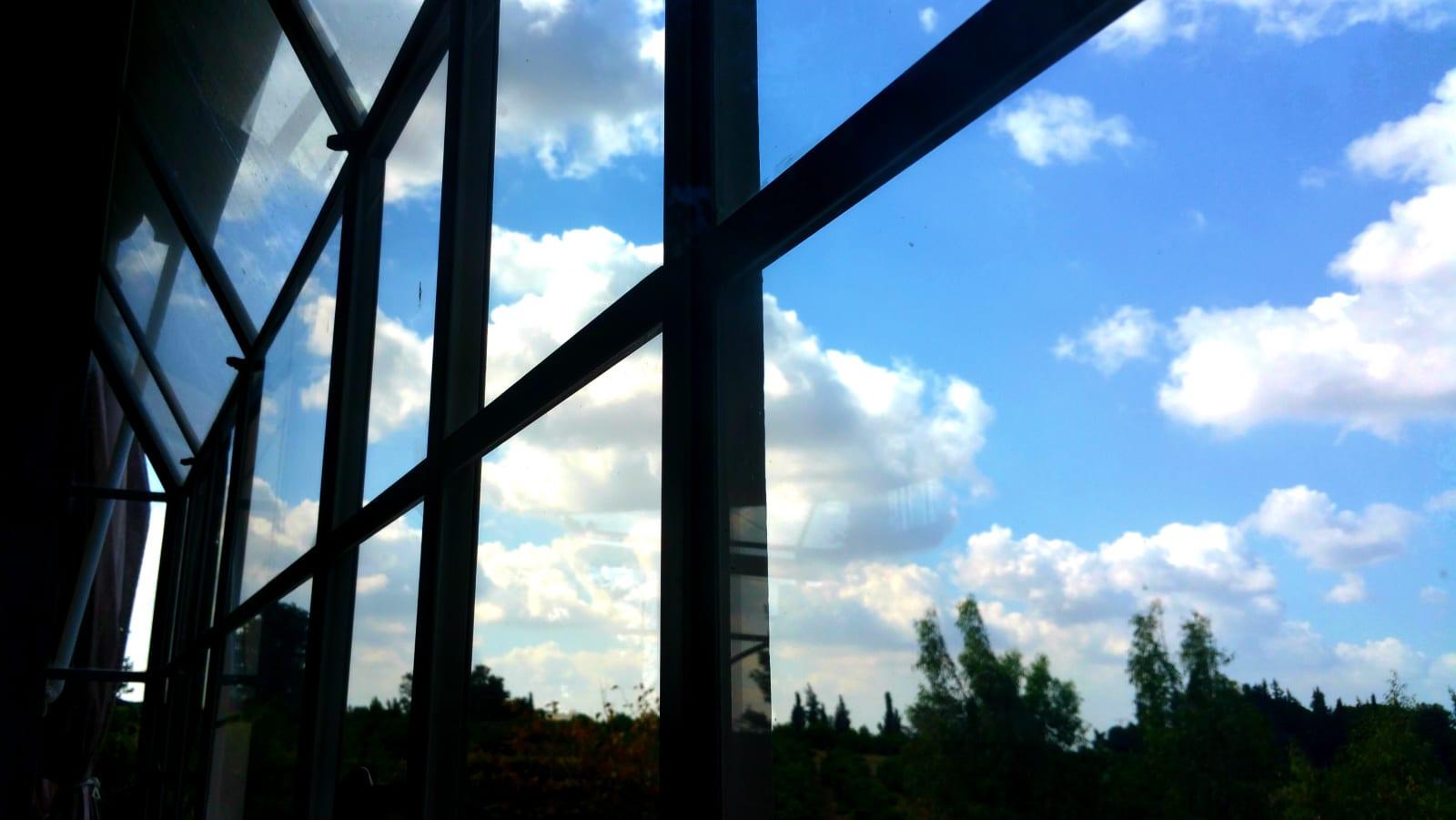 מבט אל החוץ - פרדסים ושדות - למכירה בבני ציון